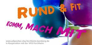 Sitzgymnastik mit Übergewicht & Adipositas (10x) @ VHS-Kursraum | Forchheim | Bayern | Deutschland