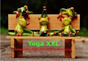 Yoga XXL bei Übergewicht & Adipositas @ Klinikum Forchheim, Kursraum 1250, 1. Stock | Forchheim | Bayern | Deutschland